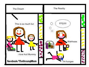 Supermarket- Dream v Reality