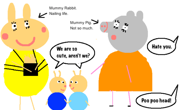 When Mummy Pig Met Drink: A Hangover Tale